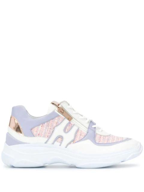 Hogl Sphere Sneakers In White