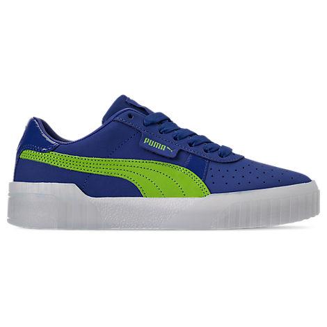 Puma Women's Cali '90S Casual Shoes, Blue