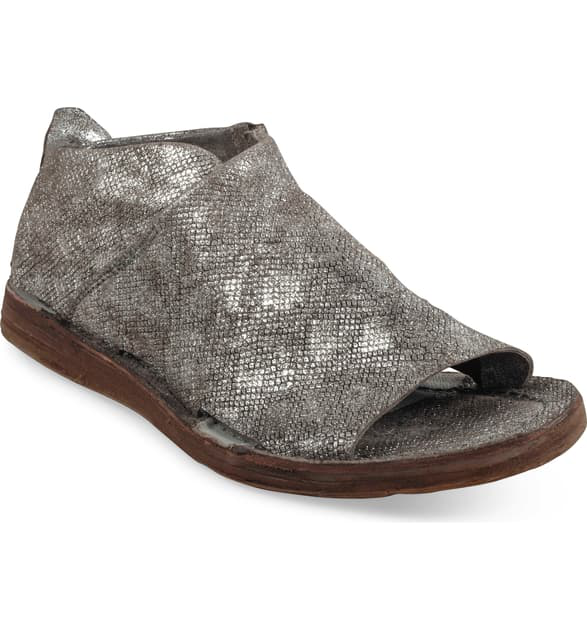 A.S.98 Reiley Sandal In Pewter