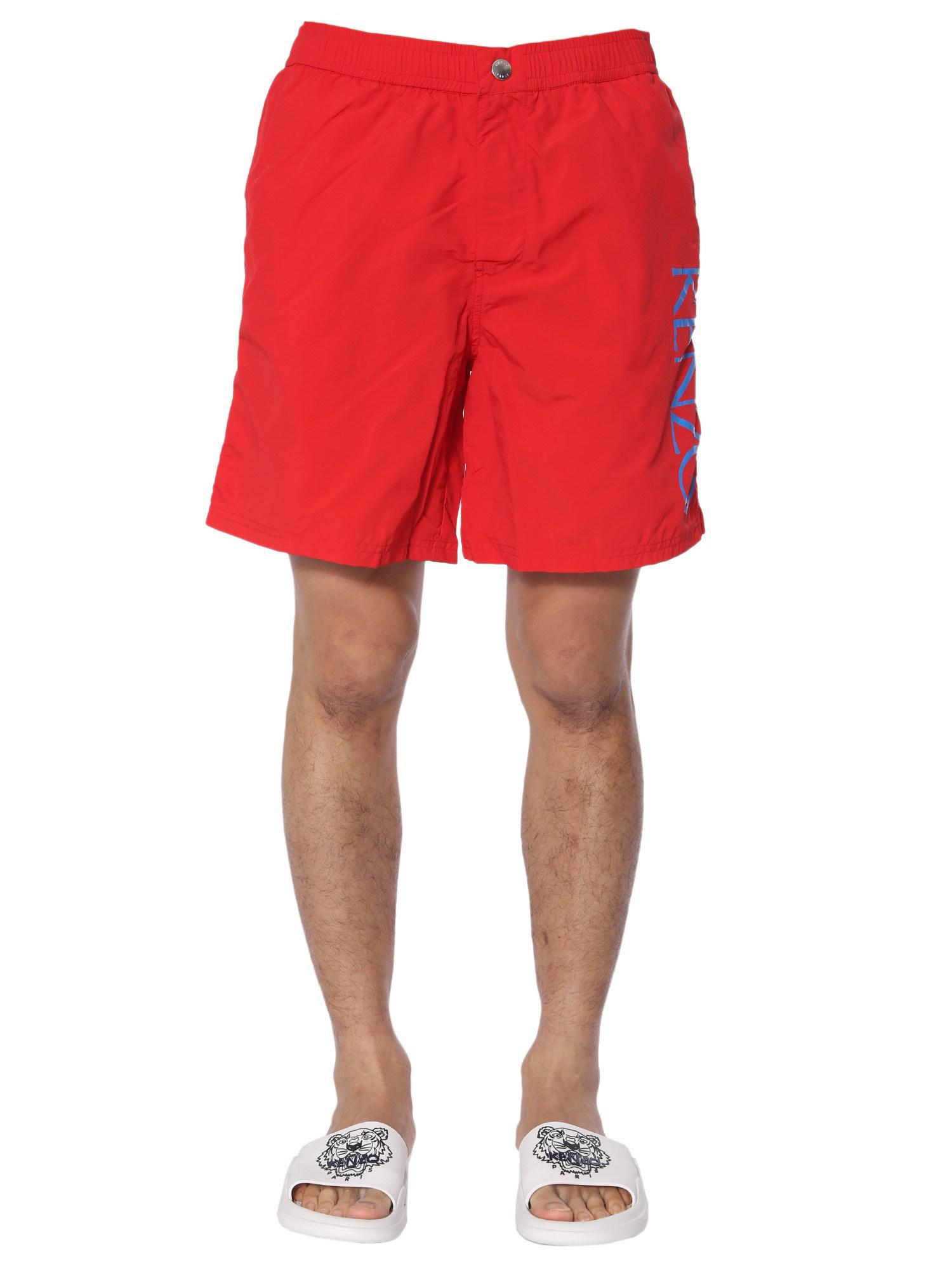 bc67f4031b Kenzo Swim Shorts In Red | ModeSens