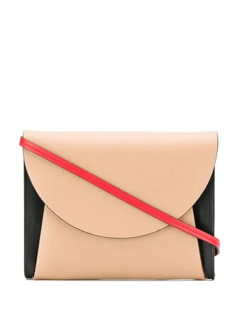 Marni Curved Crossbody Bag - Neutrals