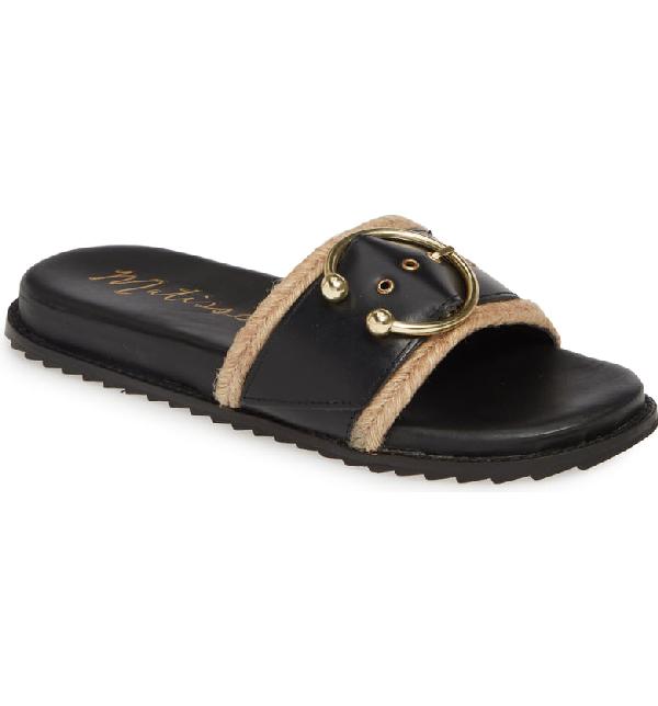 Matisse Hampton Slide Sandal In Black
