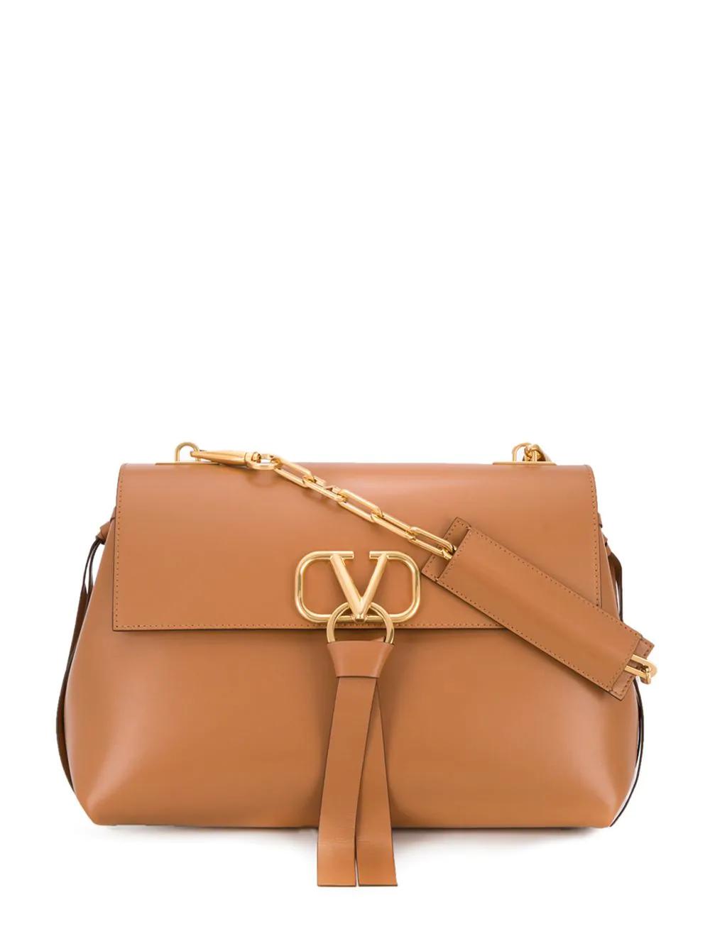 44f755a8fe Valentino Garavani Vring Shoulder Bag - Neutrals | ModeSens