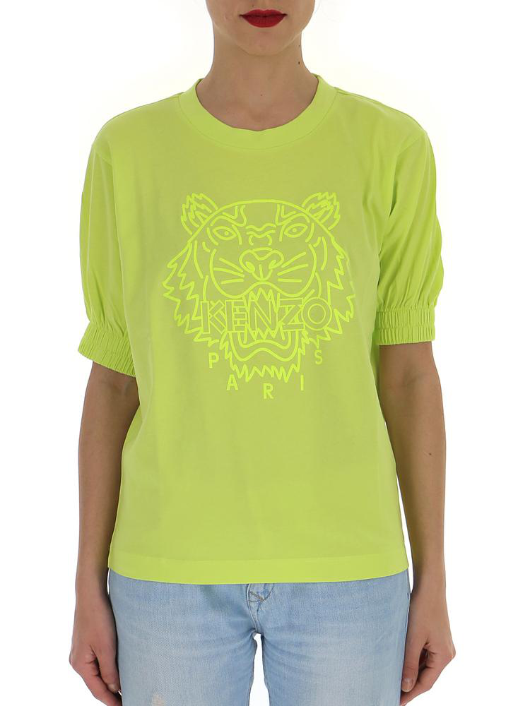 54e714dd Kenzo Neon Tiger T in Yellow