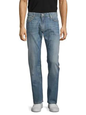 Robin's Jean Marlon Straight Jeans In Medium Blue