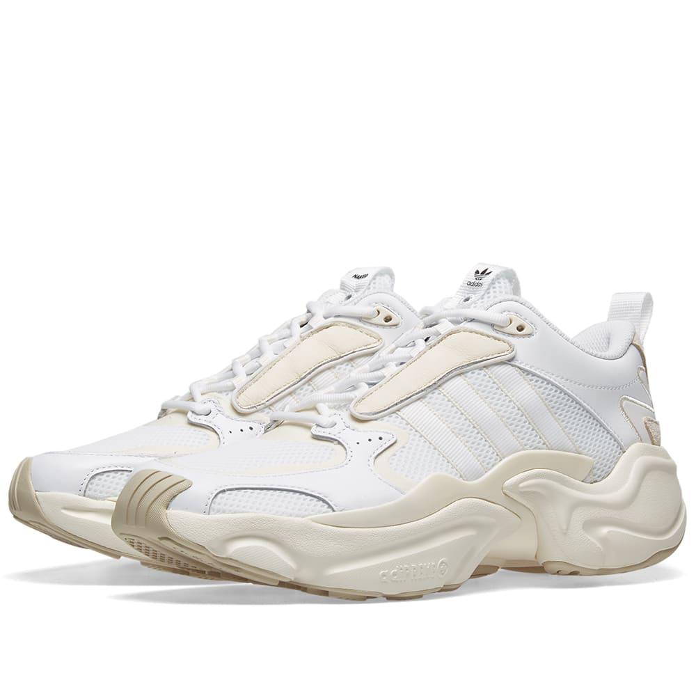Adidas Consortium X Naked Magmur Runner W In White