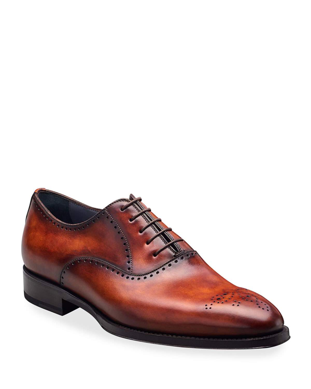 buy popular 8c2e5 1b277 Men's Deco Marmo Lace-Up Shoes in Brown