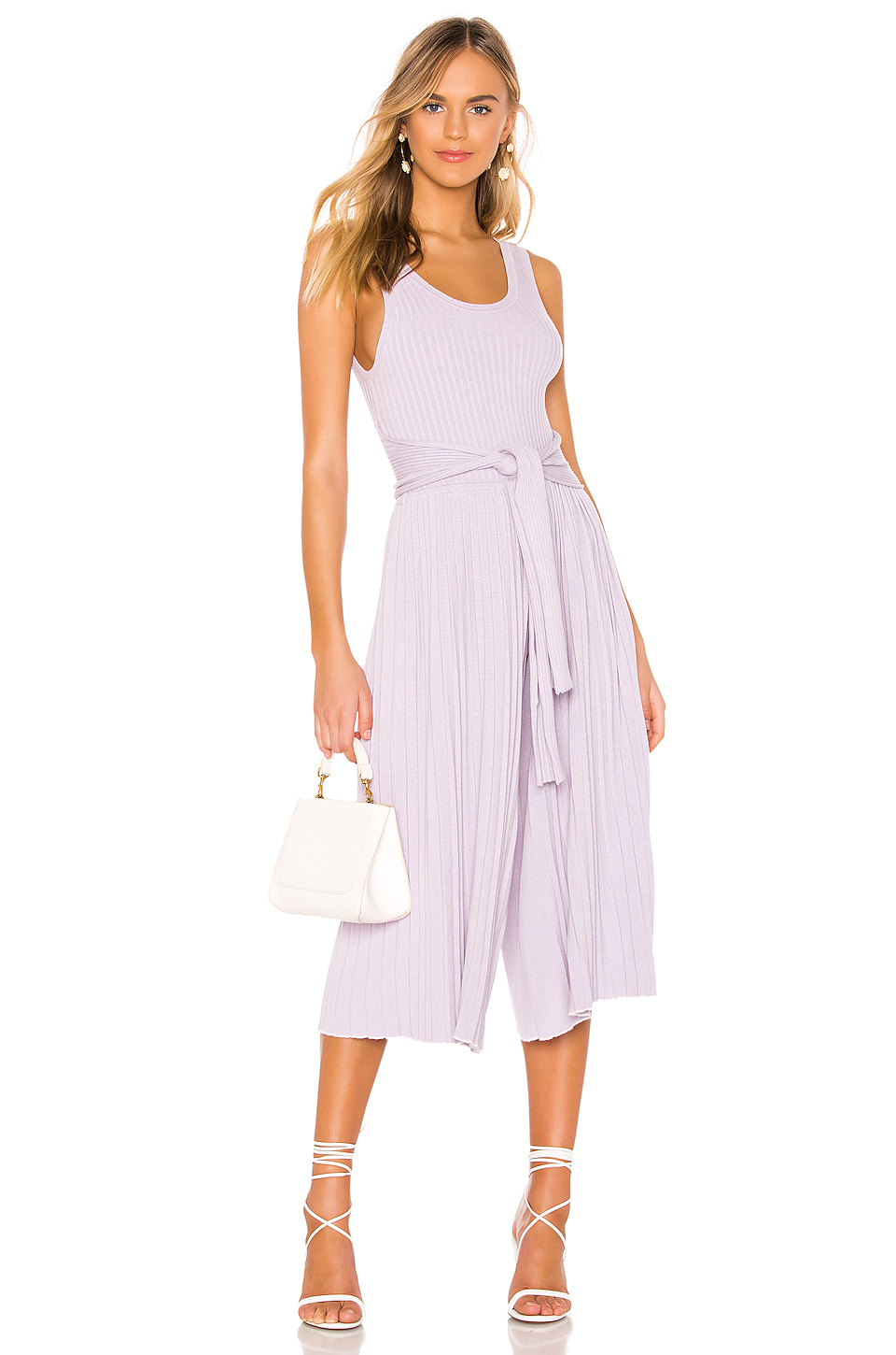 Eleven Six Selina Jumpsuit In Lavender. In Lilac