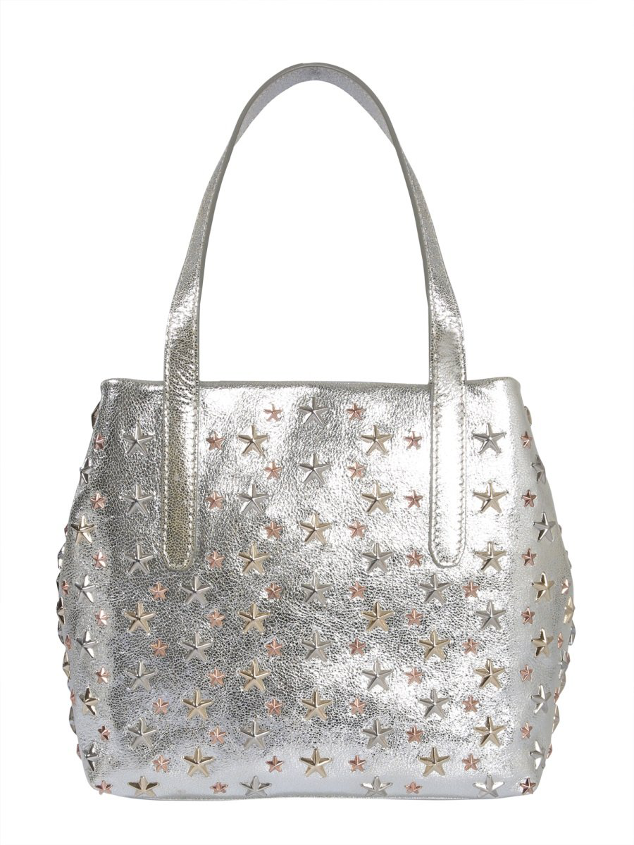 3520d4834 Jimmy Choo Star Studded Tote Bag In Beige | ModeSens