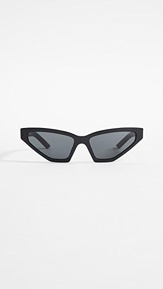 221f2cafa6383 Prada Pr 12Vs Millennial Narrow Cat Eye Sunglasses In Black