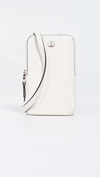 09402d6cd25 Polly North South Phone Crossbody Bag in Parchment