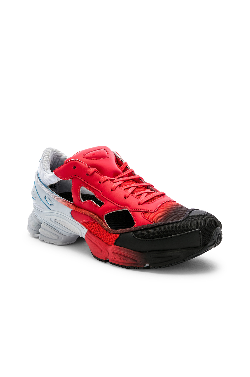 2f14ba7a9 ADIDAS BY RAF SIMONS. Adidas By Raf Simons Replicant Ozweego Sneaker In Red  ...
