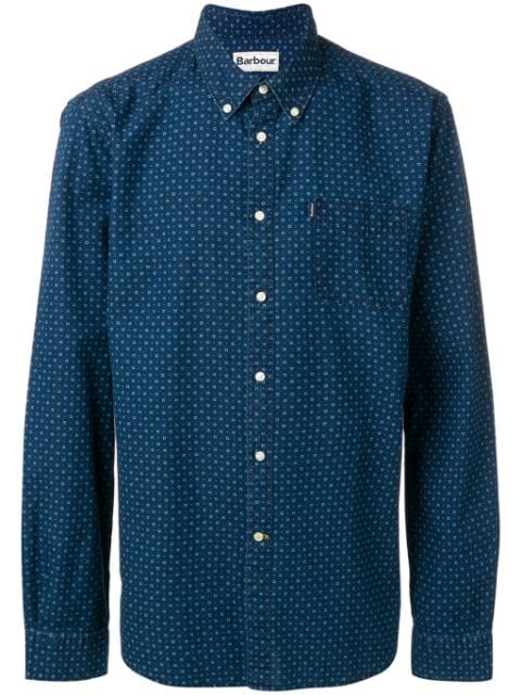 Barbour 1 Tf Shirt In Blue