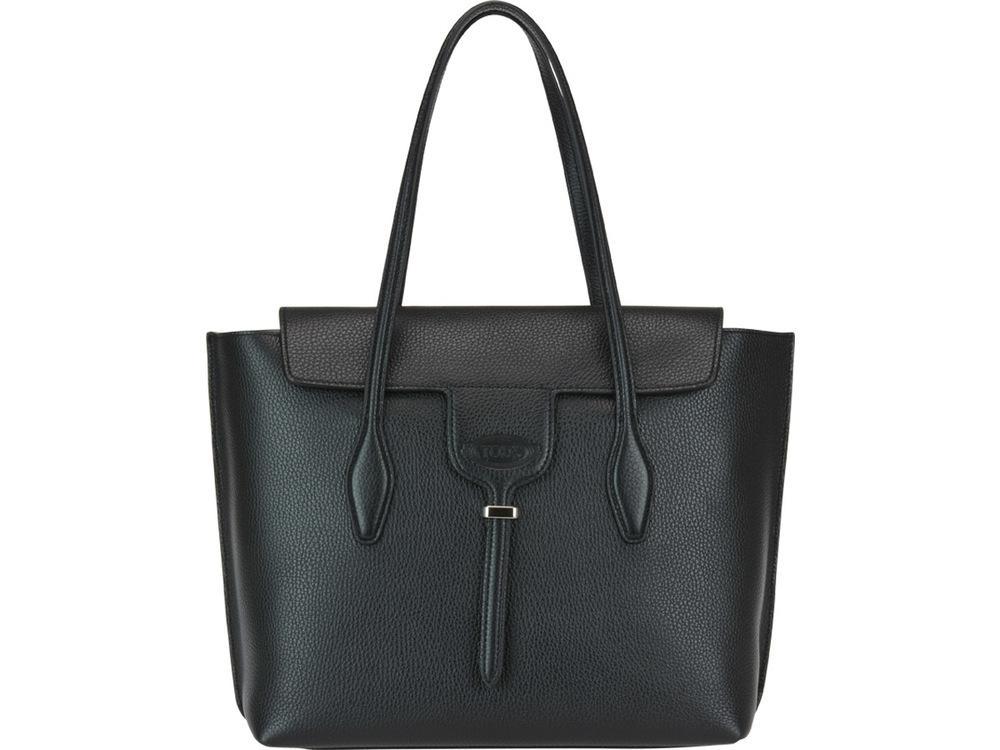 7e0c45d842 Tod's Joy Medium Tote Bag In Black   ModeSens