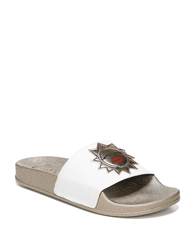 01e59171a5f9 Circus By Sam Edelman Flynn Metallic Sun Slide Sandals In Bright ...