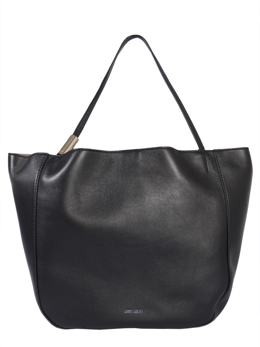 Jimmy Choo Stevie Tote Bag In Black