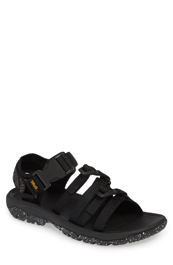 188e77992ac5 Teva Men s Hurricane Xlt2 Alp Cross-Strap Sandals In Black
