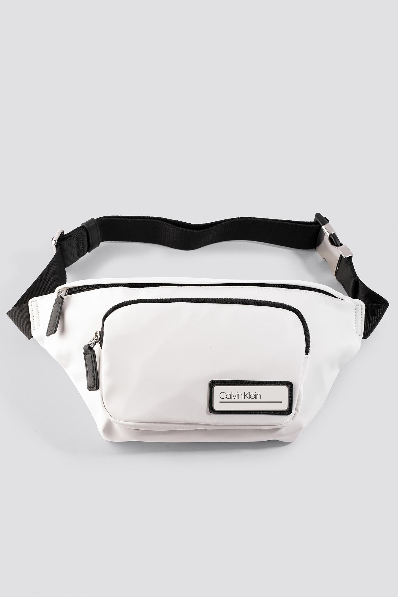 Calvin Klein Primary Waist Bag - White In Bright White