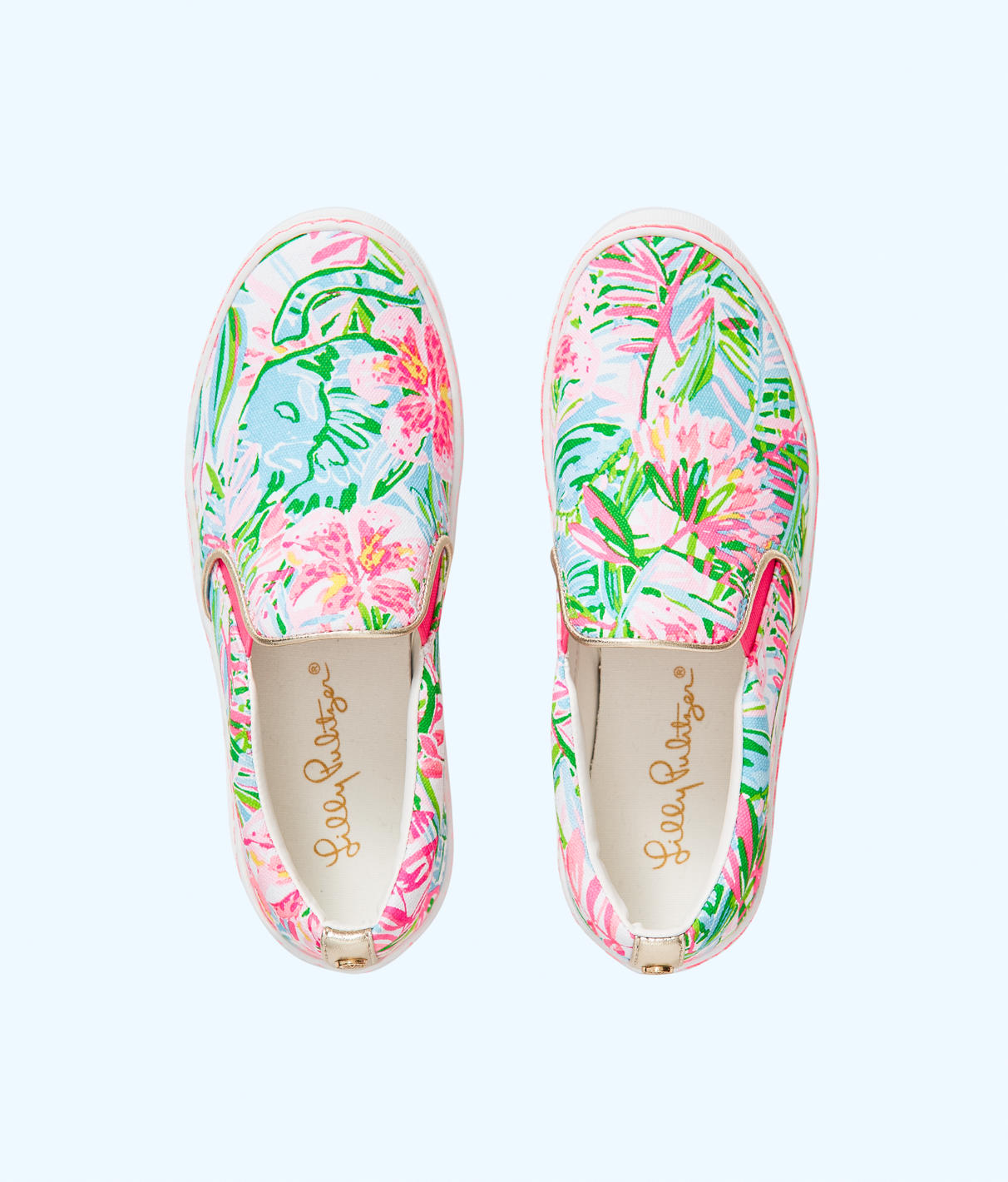 Lilly Pulitzer Julie Sneaker In Multi Pop Up Lilly Of The Jungle Accessories