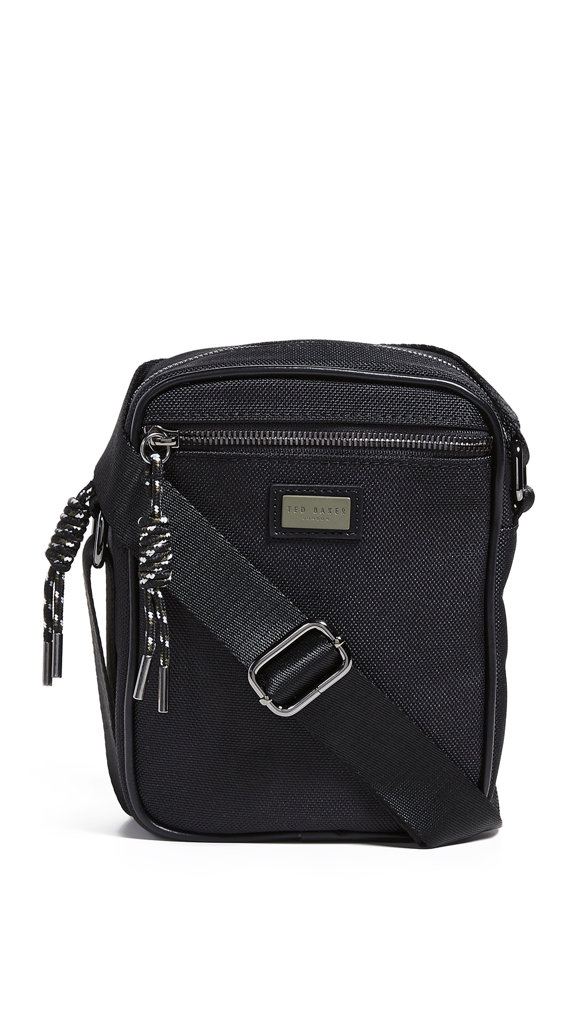 dcac31572e9 Ted Baker Smart Nylon Flight Bag In Black | ModeSens