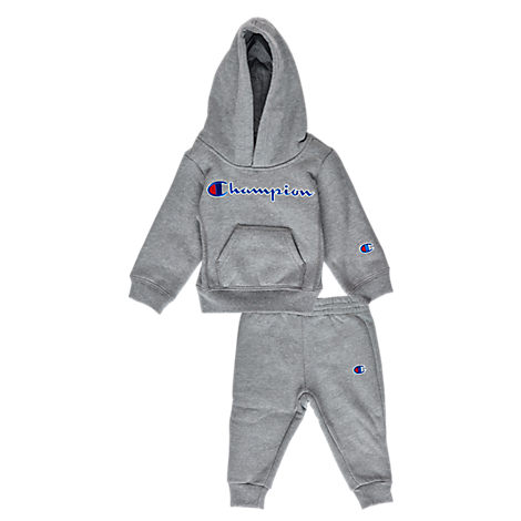 38e37177e5edd Champion Infant Heritage 2-Piece Hoodie And Joggers Set