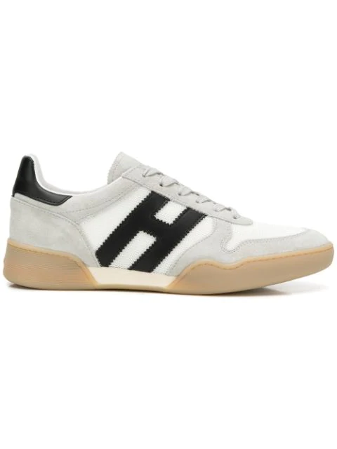 Hogan H357 Lace-up Sneakers In Multi   ModeSens