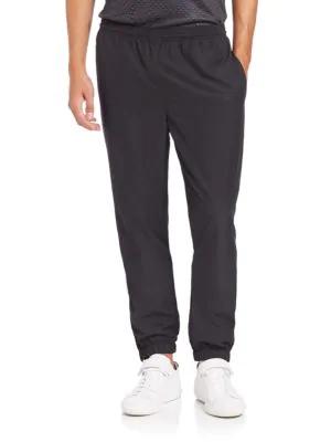 Lacoste Men's Sport Lifestyle Jog Pants In Black