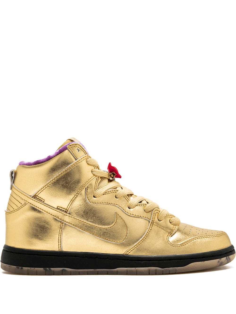 various colors ff0e4 6dbb7 Nike  Sb Dunk High Qs  Sneakers - Gold