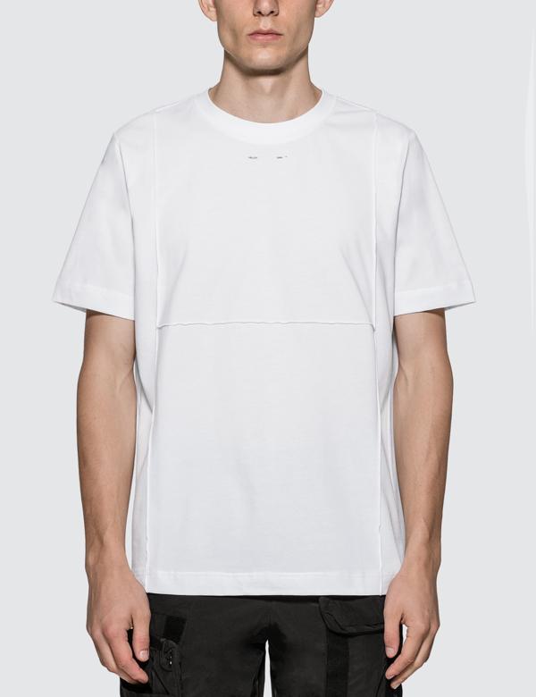 Heliot Emil Micro Logo T-shirt In White
