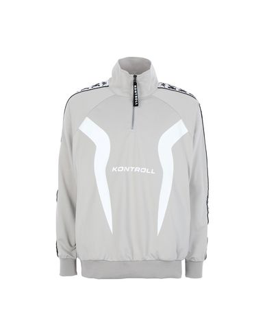 Kappa Sweatshirt Mit Reissverschluss In Grey