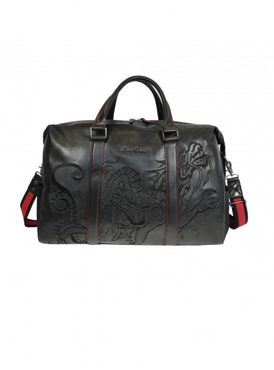 Robert Graham Gunnar Duffel Bag In Black