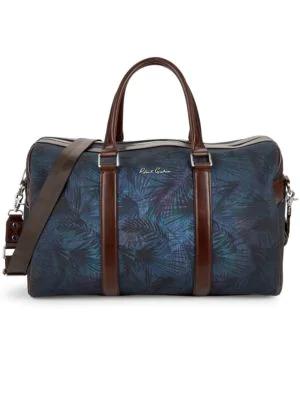 Robert Graham Printed Weekender Bag In Blue