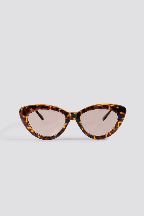 Retro Brown Sunglasses Tortoise In Eye Cat ED2IH9