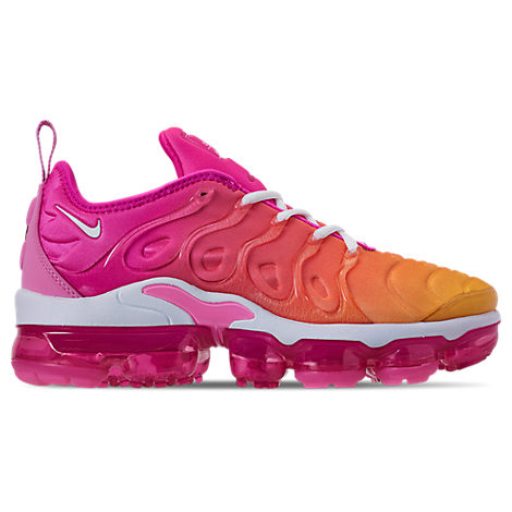 outlet store 95772 907b3 Women's Air Vapormax Plus Running Shoes, Pink - Size 5.0