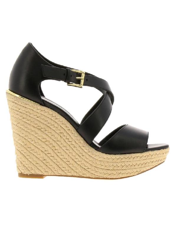 Michael Michael Kors Wedge Shoes Shoes Women  In Black