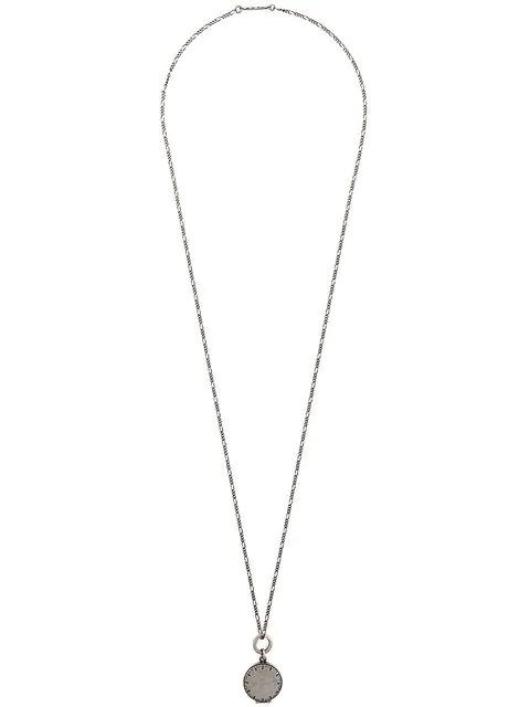 Werkstatt:münchen Pendent Necklace In Silver
