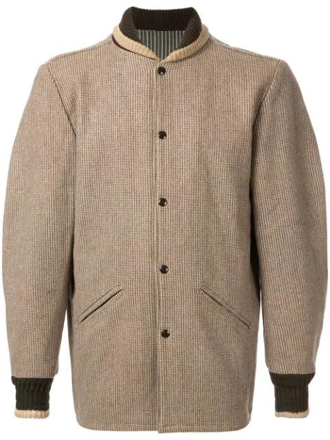 Pre-owned Fake Alpha Vintage Pharoah Jacket In Brown
