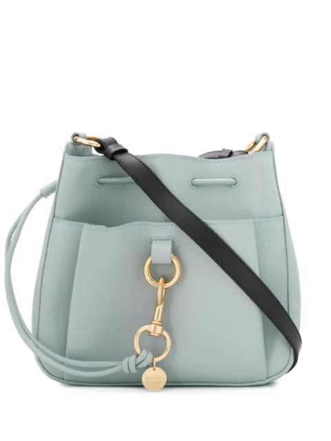 See By Chloé Drawstring Shoulder Bag In Blue