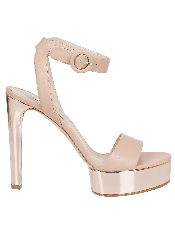 Casadei Sandals In Tab/Oro Rosa