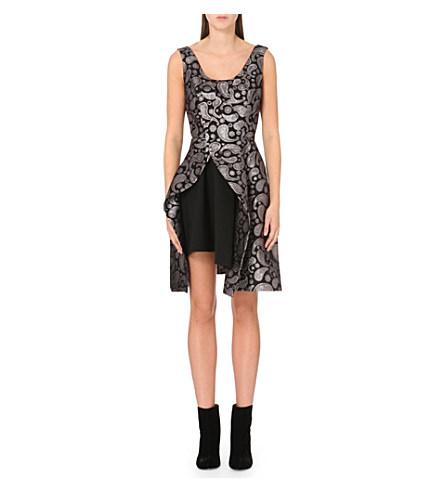 Stella Mccartney 'Paisley Jacquard Cindy' Dress In Blk