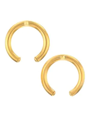 Valentino Small Hoop Earrings In Gold