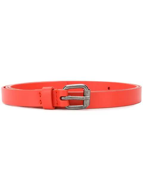 Aspesi Buckled Belt - Orange