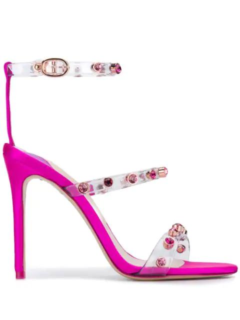 Sophia Webster Embellished Strappy Sandals - Pink