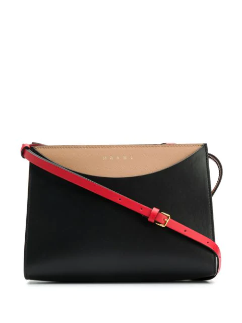 Marni Law Crossbody Bag In Black