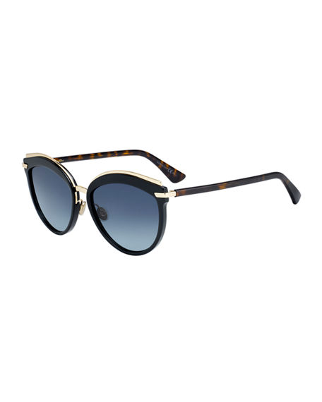 8d7254438 Dior Offset 2 Oversized Round Sunglasses, 57Mm In Black/Brown | ModeSens