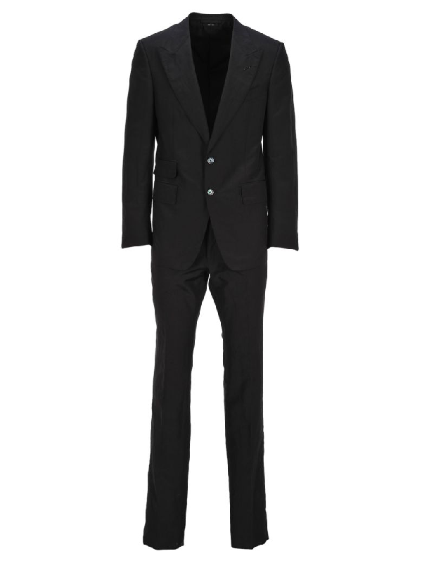 Tom Ford Two-Piece Formal Suit In Black