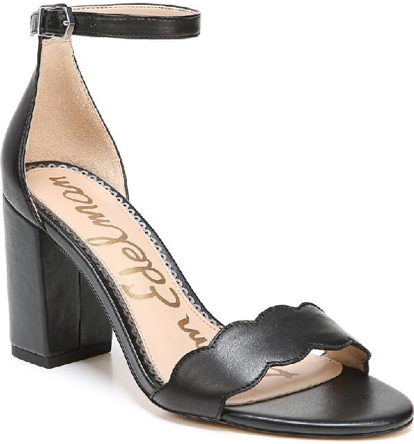 Sam Edelman Women's Odila Block Heel Sandals In Black