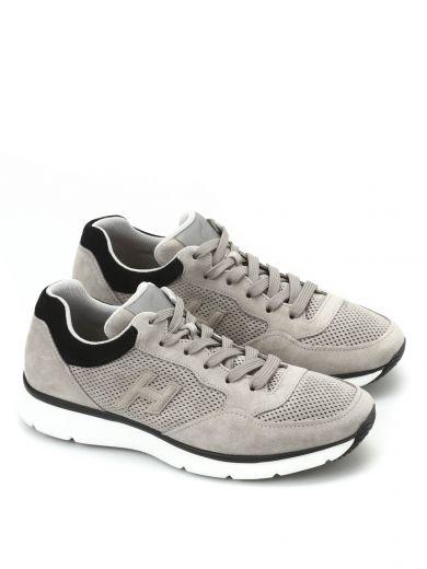 Hogan Traditional 20.15 Suede Sneakers In Grey | ModeSens