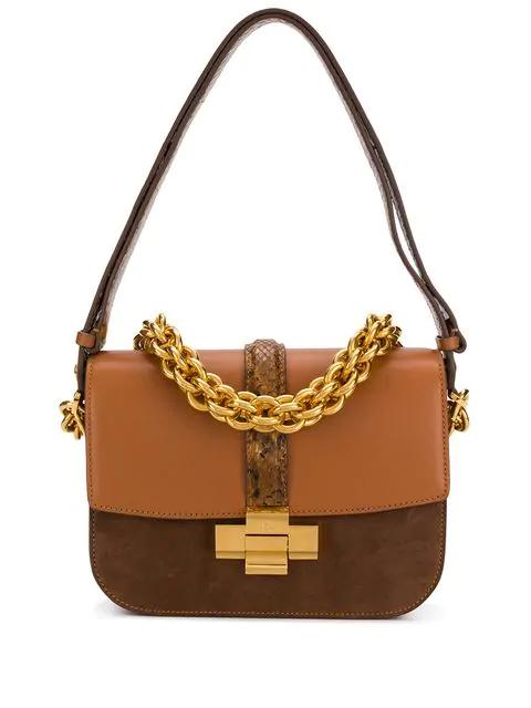 N°21 Chain Shoulder Bag In Brown