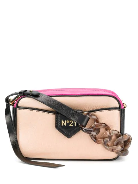N°21 Nº21 Chain Should Bag - Neutrals
